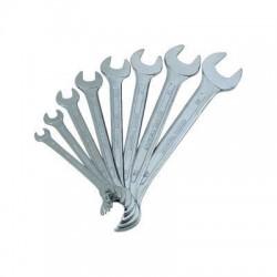 Jeu de 8 clés plates Haute Qualité 6 - 22 mm