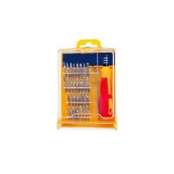kit de réparation 32 pièces tournevis de précision + embouts